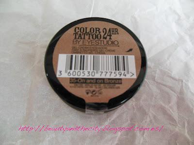 Color Tattoo Maybelline y labiales