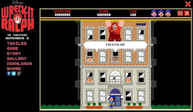 El juego de ¡Rompe Ralph! online