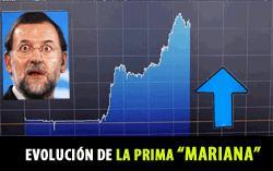 LA PRIMA DE RIESGO SE LLAMA MARIANO RAJOY