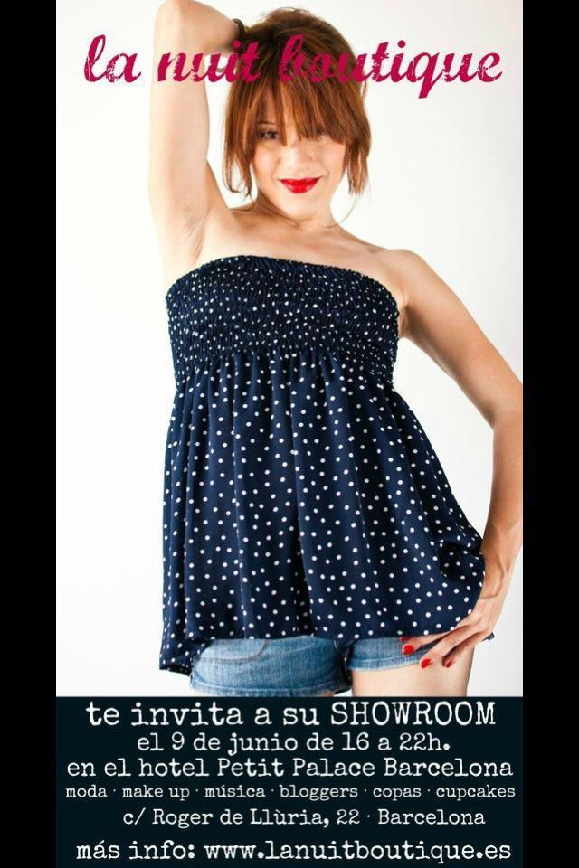 Showroom–La Nuit Boutique