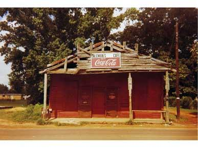 """Café de Coleman "" de William Christenberry"