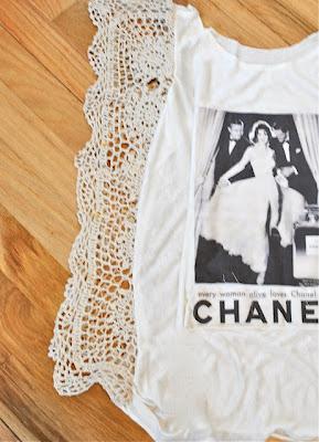 Renueva una camiseta con crochet