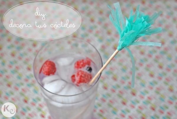DIY 30. Decora tus cócteles/Get your cocktails decorated