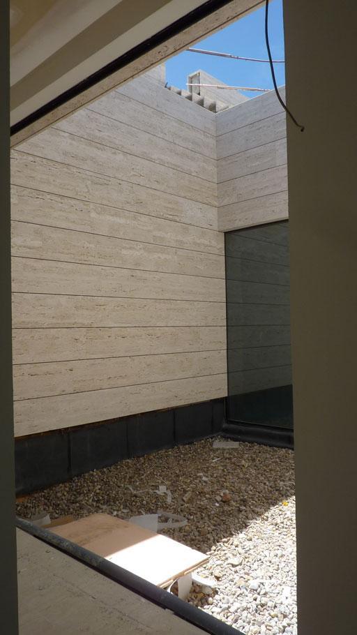 Proceso constructivo de una exclusiva vivienda a las afueras de Madrid
