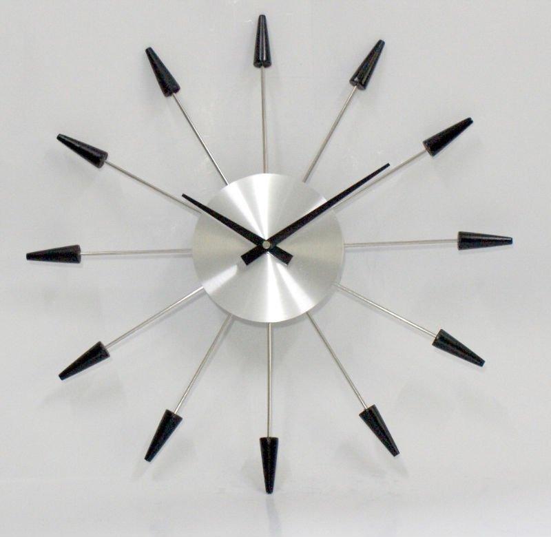 reloj de pared moderno el tiempo es oro paperblog