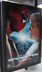 Nuevo póster de la película The Amazing Spider-Man con Spidey y Gwen