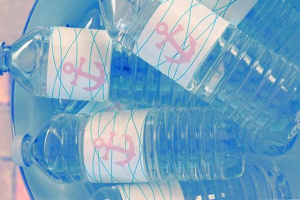 baby shower botellines decorados