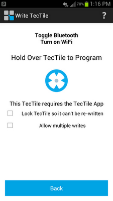 Samsung TecTiles, exprime la tecnología NFC de tu móvil