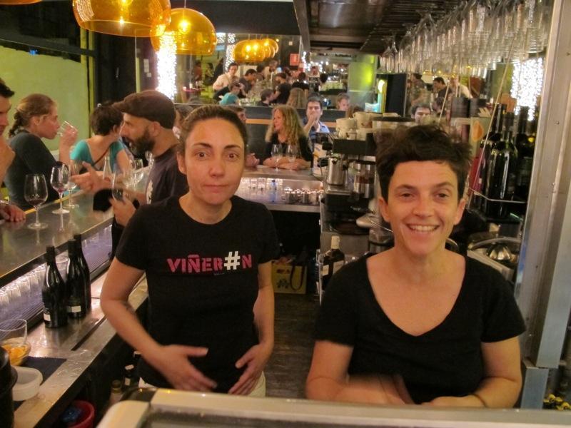 2ª barra ambulante de vino artesano en el Bar Seco