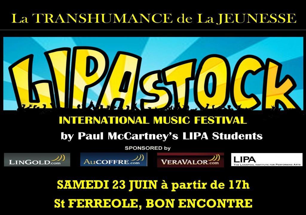 LIPASTOCK, este 23 de Junio en Agen- Francia,  una inversión en el Futuro