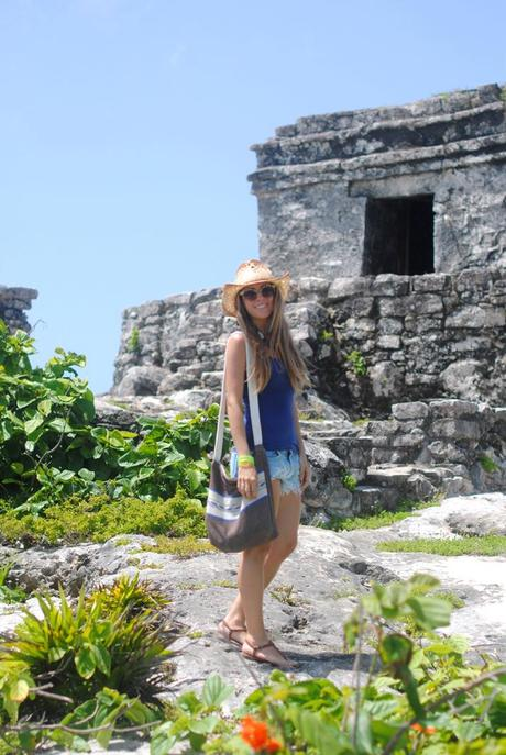 Ruinas mayas Tulum, Cancún. Blog México