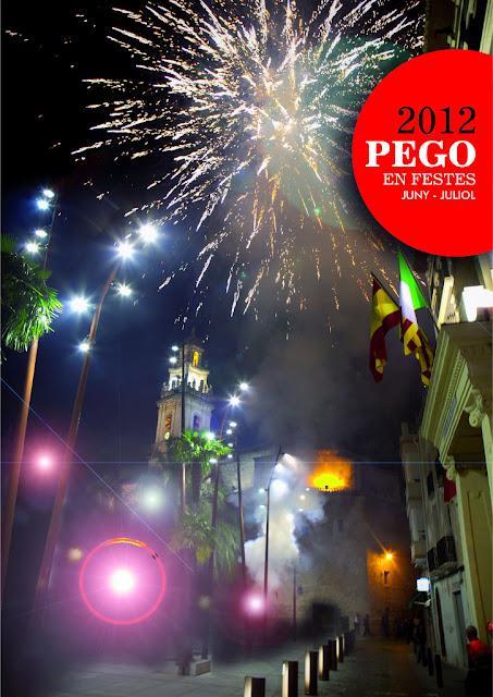 Pego. Fiestas Patronales de San Cristóbal y el Stmo Hecce Homo - Moros y Cristianos 2012