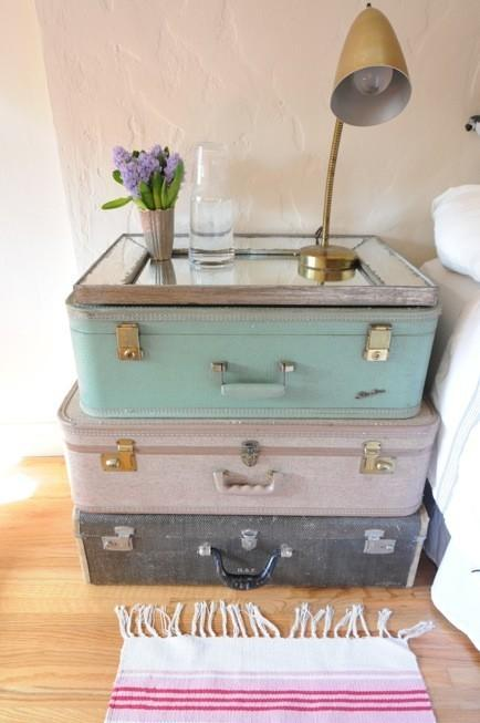 reciclar maletas