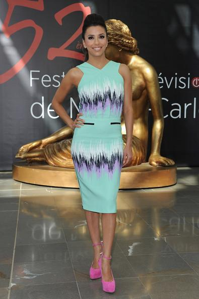 Eva Longoria Actress Eva Longoria poses at a photocall for 'Desperate Housewives' during the 52nd Monte Carlo TV Festival on June 13, 2012 in Monte-Carlo, Monaco.