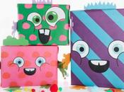 Papel regalos para hacer paquetes monstruosos cool