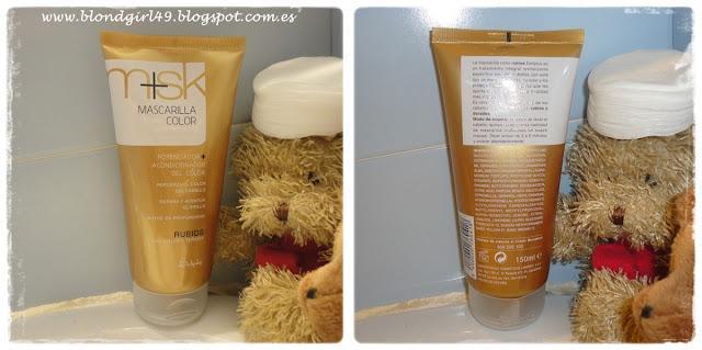 Review Mascarilla color m+sk de Deliplus [fotos antes y después]