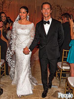 El vestido de novia de Camila Alves. Wedding dress