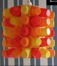 Reciclar botellas de plástico vacias convirtiendolas en lámparas