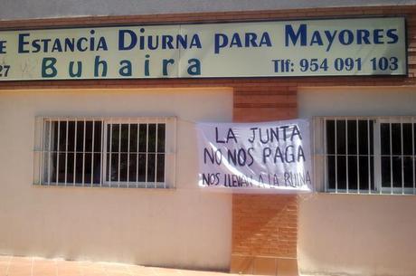 Unidades de día denuncian varios meses de impagos de la Junta