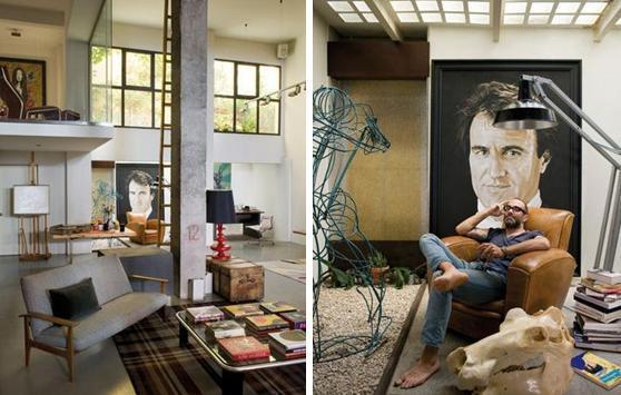 Decoart casa estudio de un pintor paperblog - Pintores de viviendas ...