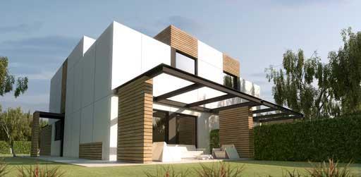 A cero presenta un nuevo proyecto de vivienda a cero tech - Casas prefabricadas granada ...