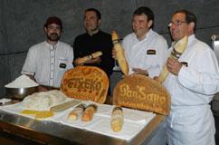 Etxeko el primer pan de la marca Pansano