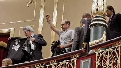 Mineros asturianos-políticos de PP, diálogo de sordos.