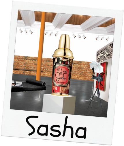 Sasha by Benefit, see and be seen