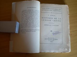 La primera historia de la lengua latina publicada en España