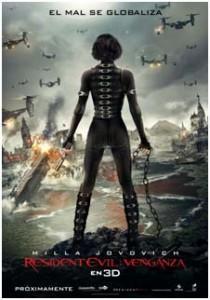 [Cine]-Resident Evil: Webchat mundial con Mila Jovovich