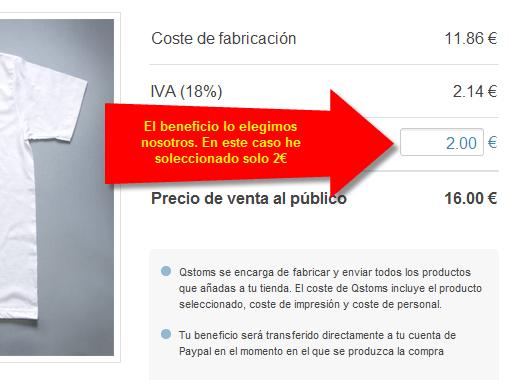 QStoms - Crea e integra tu tienda de camisetas en Facebook o tu blog