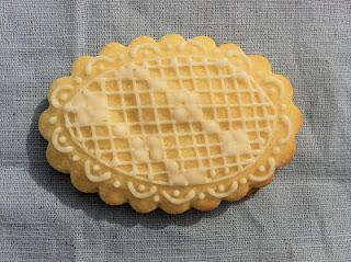 GALLETAS DE PUNTO DE CRUZ (O LACE COOKIES)