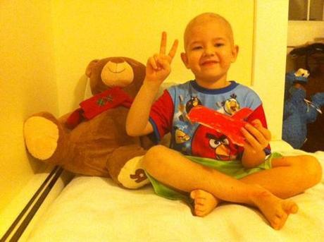 Richi, un luchador de 6 años contra el cáncer