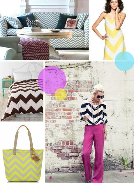Tendencias de moda: chevron