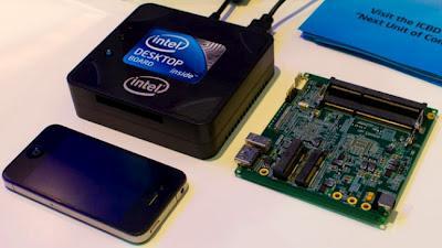 Intel Next Unit of Computing, Intel presenta su microordenador