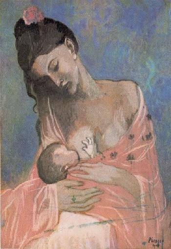 Maternidad. Pablo Ruiz Picasso, 1901
