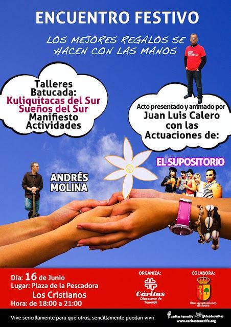 Encuentro Festivo de Cáritas Tenerife