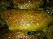 Alitas pollo curry