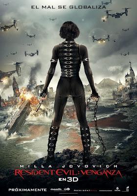 Resident Evil: Venganza nuevo trailer español