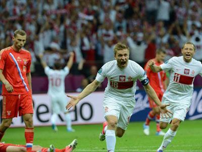 Polonia 1 - Rusia 1: vida para los polacos