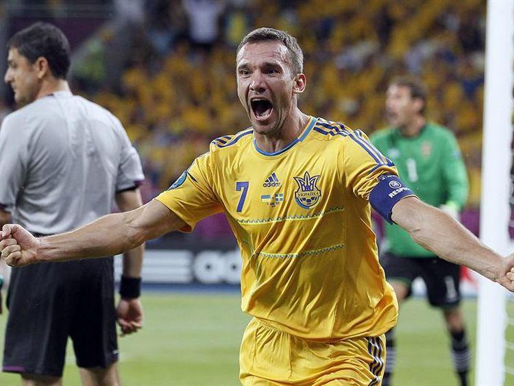 Ucrania 2 - Suecia 1: la noche de Shevchenko