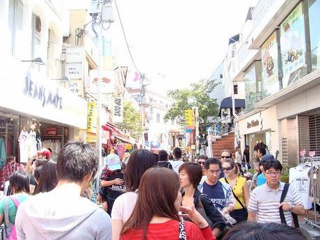 Takeshita Dori (Takeshita Street) 竹下取り