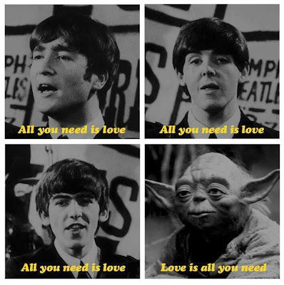 All you need is love… versión Yoda