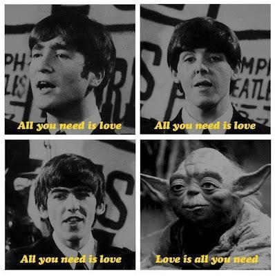 All you need is love… versión Yoda