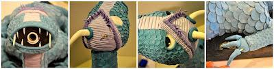 Tarta Dragón 3D con sorpresa