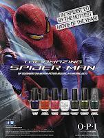 OPI estrena The Amazing Spiderman