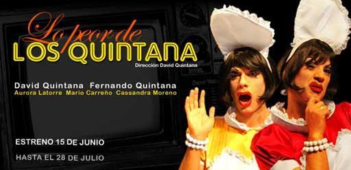 """Hoy se estrena """"Lo peor de los Quintana"""" en el Teatro Lara"""