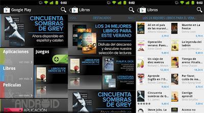 Google Play Books llega a España