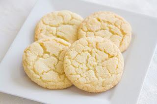Galletas de azúcar. (Sugar cookies).