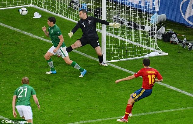 España 4 - Irlanda 0: Fuera dudas